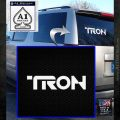 TRON LEGACY LOGO VINYL DECAL STICKER White Emblem 1 120x120