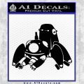 Tachikoma D1 Decal Sticker Ghost In The Shell Black Logo Emblem 120x120
