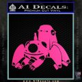 Tachikoma D1 Decal Sticker Ghost In The Shell Hot Pink Vinyl 120x120