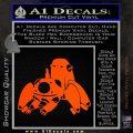 Tachikoma D1 Decal Sticker Ghost In The Shell Orange Vinyl Emblem 120x120