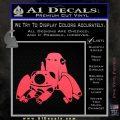Tachikoma D1 Decal Sticker Ghost In The Shell Pink Vinyl Emblem 120x120