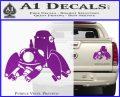 Tachikoma D1 Decal Sticker Ghost In The Shell Purple Vinyl 120x97