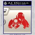Tachikoma D1 Decal Sticker Ghost In The Shell Red Vinyl 120x120