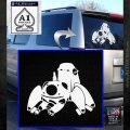 Tachikoma D1 Decal Sticker Ghost In The Shell White Emblem 120x120