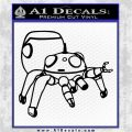Tachikoma D2 Decal Sticker Ghost In The Shell Black Logo Emblem 120x120