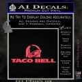 Taco Bell Decal Sticker Logo Pink Vinyl Emblem 120x120