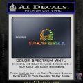 Taco Bell Decal Sticker Logo Sparkle Glitter Vinyl 120x120