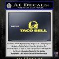 Taco Bell Decal Sticker Logo Yelllow Vinyl 120x120