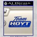 Team Hoyt Archery Decal Sticker DIS Blue Vinyl 120x120
