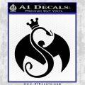 Tech N9ne Strange Music Logo Decal Sticker Black Logo Emblem 120x120