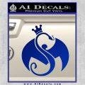 Tech N9ne Strange Music Logo Decal Sticker Blue Vinyl 120x120
