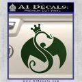 Tech N9ne Strange Music Logo Decal Sticker Dark Green Vinyl 120x120