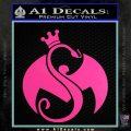 Tech N9ne Strange Music Logo Decal Sticker Hot Pink Vinyl 120x120