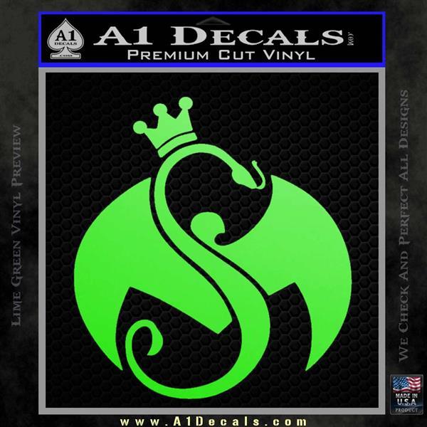 Tech N9ne Strange Music Logo Decal Sticker A1 Decals
