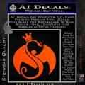 Tech N9ne Strange Music Logo Decal Sticker Orange Vinyl Emblem 120x120