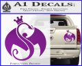 Tech N9ne Strange Music Logo Decal Sticker Purple Vinyl 120x97