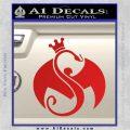 Tech N9ne Strange Music Logo Decal Sticker Red Vinyl 120x120
