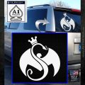 Tech N9ne Strange Music Logo Decal Sticker White Emblem 120x120