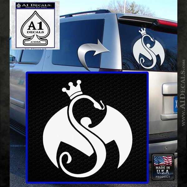 Tech N9ne Strange Music Logo Decal Sticker A1 Decals