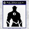The Flash Silhouette Vinyl Decal Sticker Black Logo Emblem 120x120