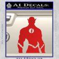 The Flash Silhouette Vinyl Decal Sticker Red Vinyl 120x120