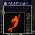 The Little Mermaid D4 Decal Sticker Ariel Orange Vinyl Emblem 120x120