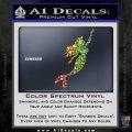 The Little Mermaid D4 Decal Sticker Ariel Sparkle Glitter Vinyl 120x120