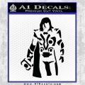 Thor Greek God Cloak Decal Sticker Black Logo Emblem 120x120