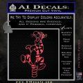 Tiger Winnie Pooh Bounce Decal Sticker Pink Vinyl Emblem 120x120