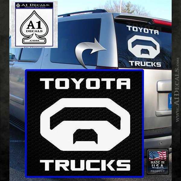 Toyota Trucks Decal Sticker » A1 Decals