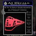 Train Decal Sticker Pink Vinyl Emblem 120x120