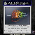 Train Decal Sticker Sparkle Glitter Vinyl 120x120