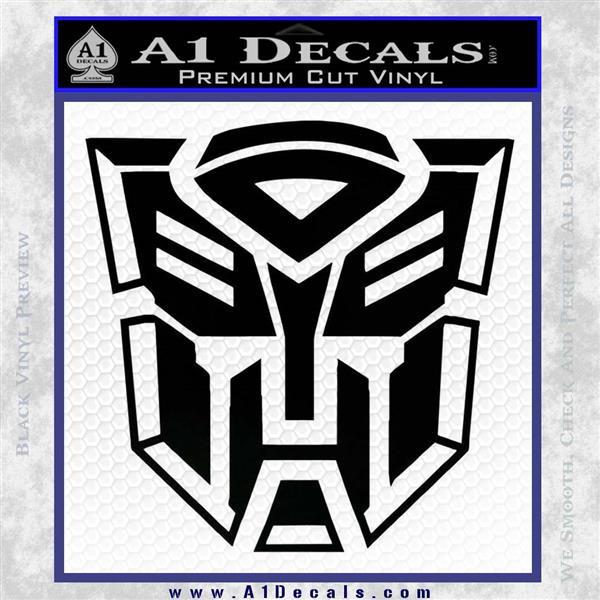 Transformer Autobots 3d Decal Sticker A1 Decals