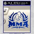 UFC MMA Rear Naked Choke Decal Sticker Blue Vinyl 120x120