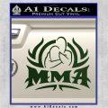 UFC MMA Rear Naked Choke Decal Sticker Dark Green Vinyl 120x120