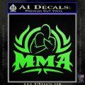 UFC MMA Rear Naked Choke Decal Sticker Lime Green Vinyl 120x120