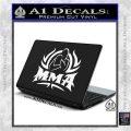 UFC MMA Rear Naked Choke Decal Sticker White Vinyl Laptop 120x120