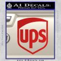 UPS Decal Sticker SH Red Vinyl 120x120