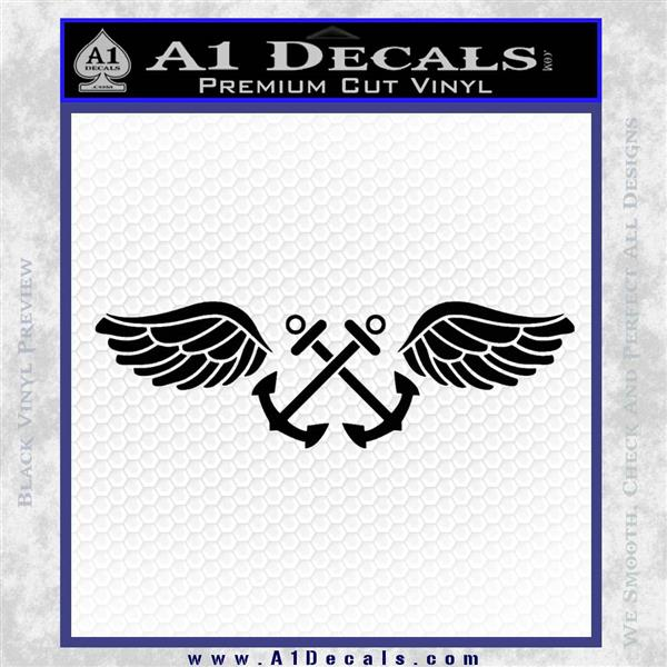 Us Navy Aviation Boatswain S Mate Decal Sticker 187 A1 Decals