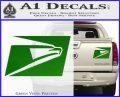 USPS United States Postal Service Decal Sticker Green Vinyl 120x97