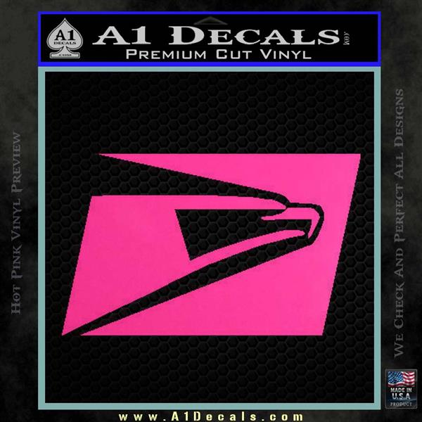 ... USPS United States Postal Service Decal Sticker Hot Pink Vinyl 120x120  ...