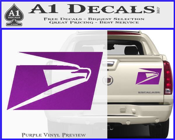 Usps United States Postal Service Decal Sticker 187 A1 Decals