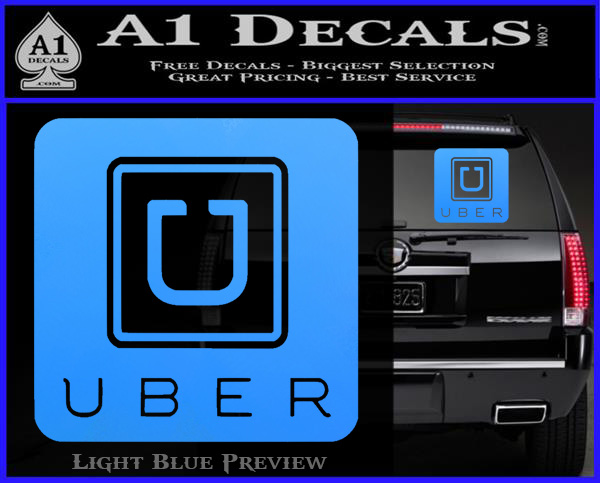 Uber Decal Sticker Sq 187 A1 Decals