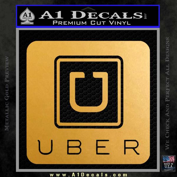 What Is Uber Black >> Uber Decal Sticker SQ » A1 Decals