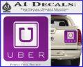 Uber Decal Sticker Purple Vinyl 120x97