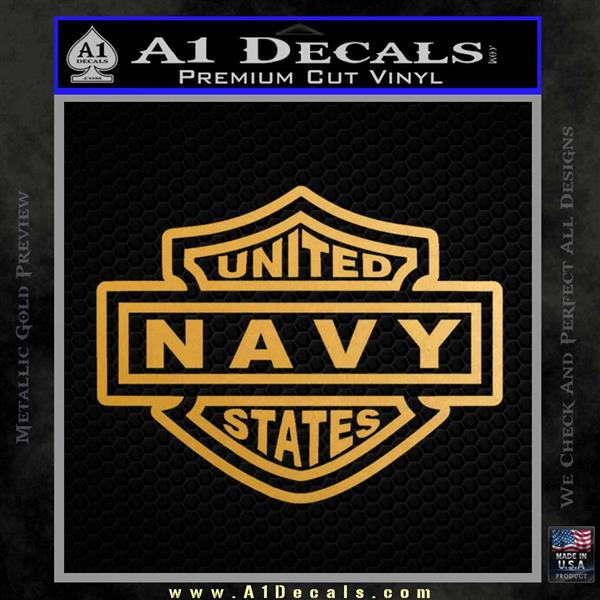 United States Navy Motorcycle Shield Decal Sticker 187 A1 Decals