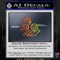 VIKING ODIN SLEIPNIR MEDIEVAL VINYL DECAL STICKER Sparkle Glitter Vinyl 120x120