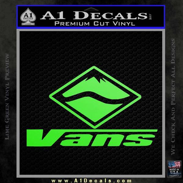 Vans Logo Rdz Decal Sticker 187 A1 Decals