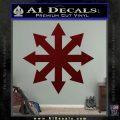 Warhammer Chaos Kaos Decal Sticker Dark Red Vinyl 120x120
