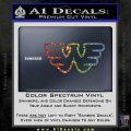 Waylon Jennings Decal Sticker Sparkle Glitter Vinyl 120x120